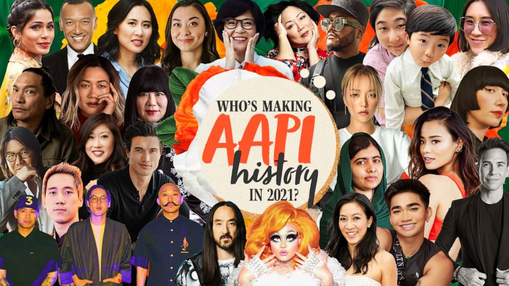 Who is Making Asian American Pacific Islander History in 2021: The GMA Inspiration List